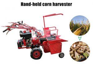 hand hold corn harvester