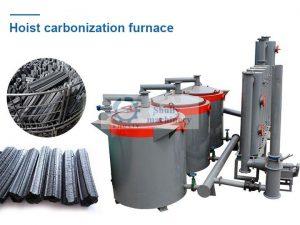 hoist carbonization furnace