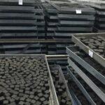 hookah charcoal briquettes drying