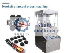 hookah charcoal press machine