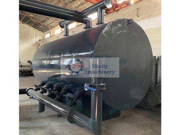 horizontal charcoal furnace