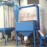 horizontal wood flour grinder