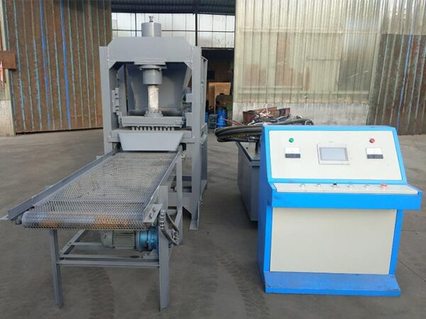 hydraulic hookah charcoal machine