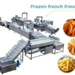 industrial automatic french fries line