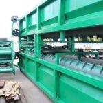industrial log debarker machine