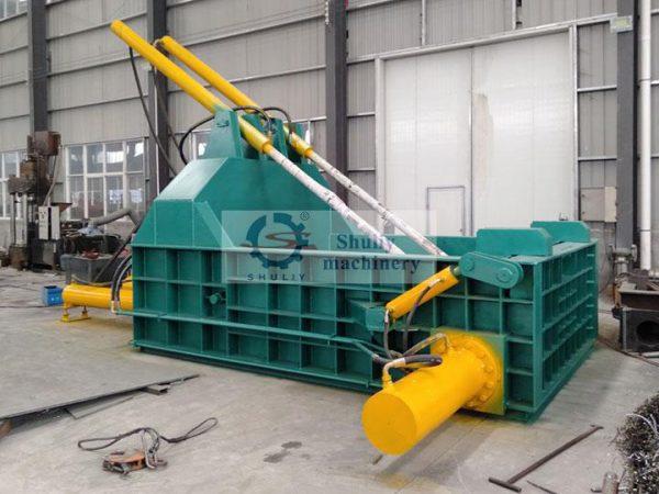 industrial metal baler