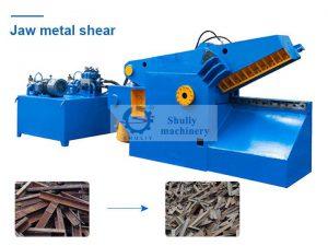 jaw type metal shear