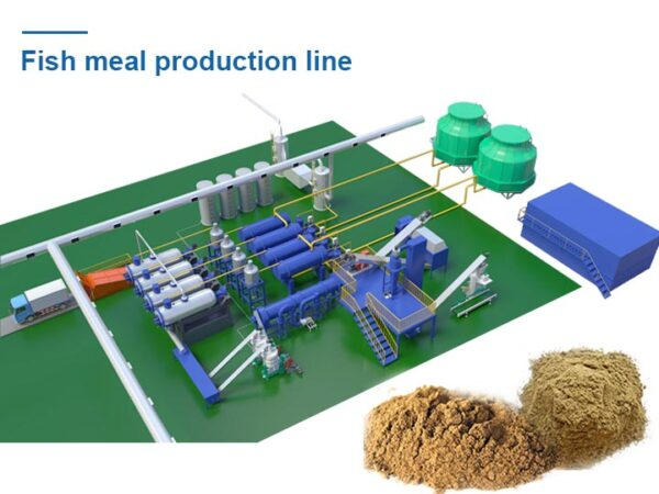 large fish meal production line