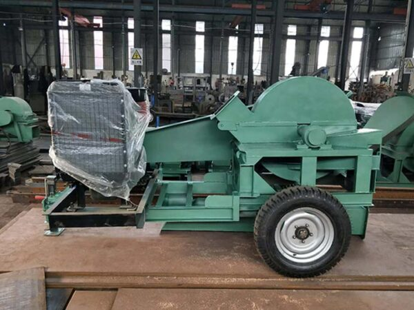 large wood crusher for sale