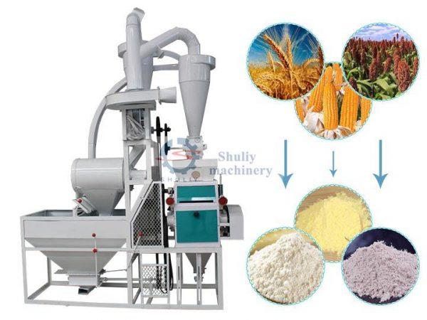 maize-corn milling machine