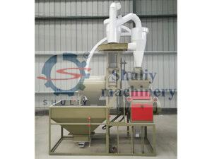 maize flour millig machine