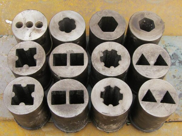 molds of charcoal machine