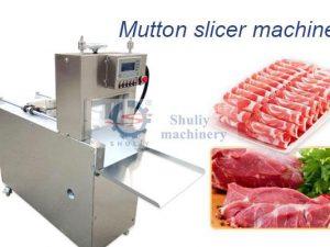 mutton lamb slicing machine