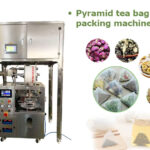 pyramid tea bag packing machine