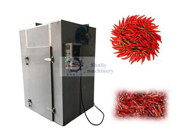 red pepper dryer machine