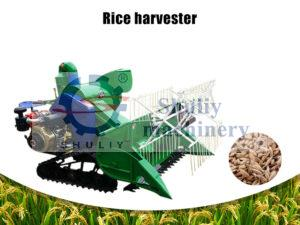 rice and wheat harvester