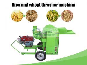 rice and wheat thresher