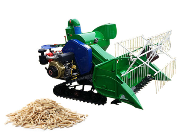 rice harvester machine