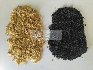 rice husk charcoal