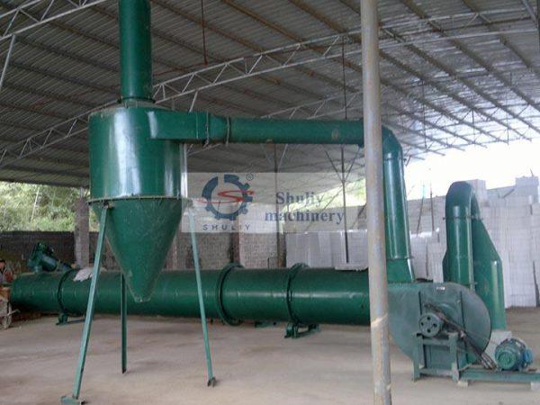 rice husk dryer machine