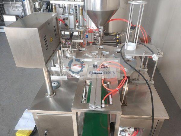 rotary yogurt filling machine