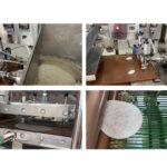 roti chapatti making machine working steps