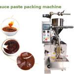 sauce paste packing machine
