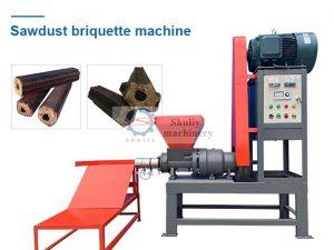 sawdust briquette machine
