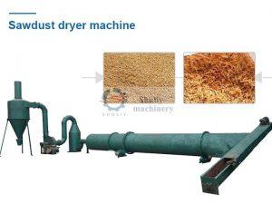 sawdust drying machine