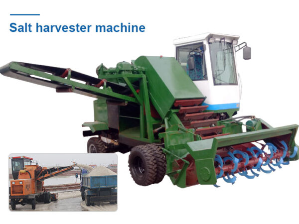 sea salt harvester machine