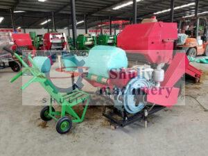 silage baler machine