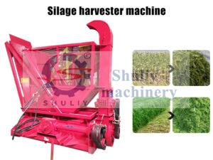 silage harvester machine