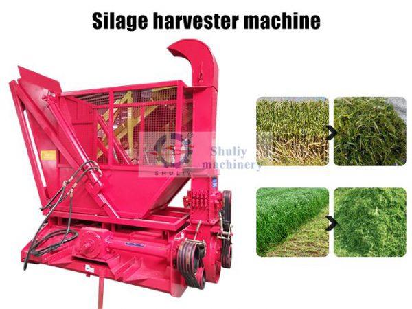 silage harvester machine