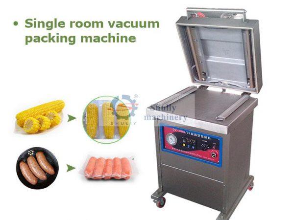 single room vacuum packing machine