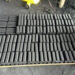 square charcoal briquettes
