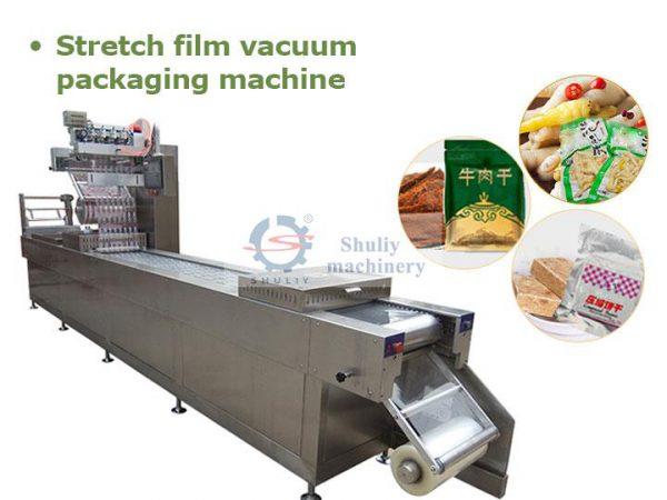 stetch film vacuum packing machine