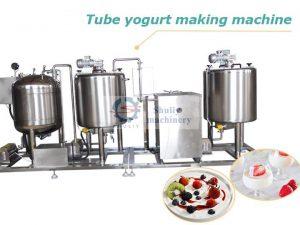 tube yogurt making machine