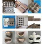 various paper pulp trays