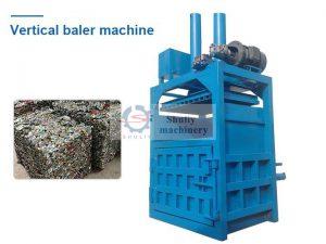 vertical metal baler machine
