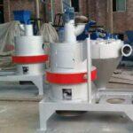 vertical wood powder machine