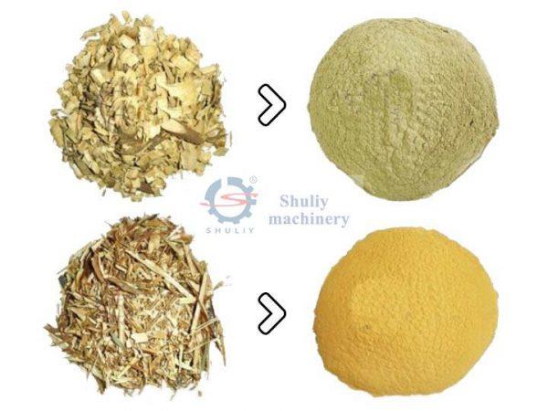 wood-powder-processing-by-the-vertical-wood-powder-machine