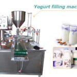 yogurt filling machine