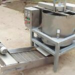 Deoiling dewatering machine