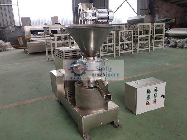 Peanut butter grindingmachine