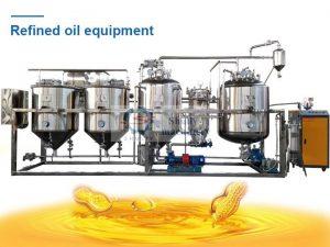 Refined oil equipment
