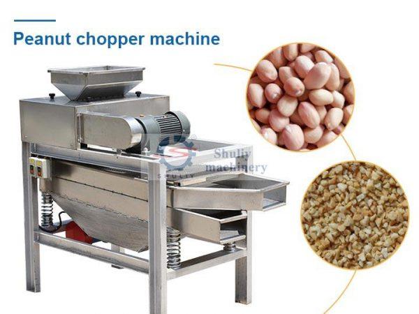 peanut chopper machin