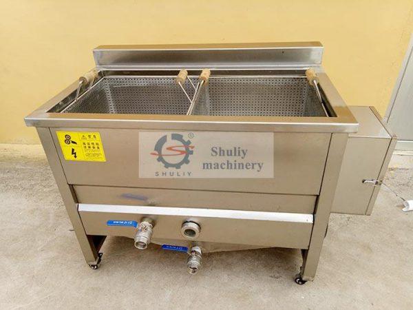 100kg deep frying machine