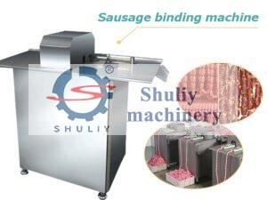 Sausage binding machine