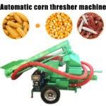 automatic corn thresher