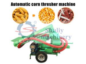 automatic corn thresher